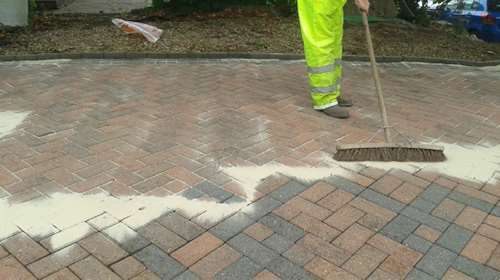 Driveway Sanding Block Paving Surrey London