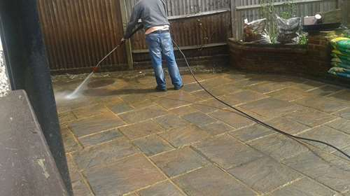 Jet Washing Block Paving Cleaning South Croydon